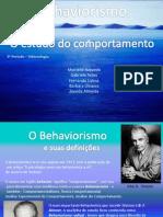 Behaviorism o