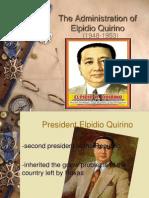 Administration of Elpidio Quirino