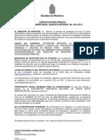 CONVOCATORIA PÚBLICA S.I.P. 001