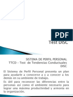 Test Disc- Clase