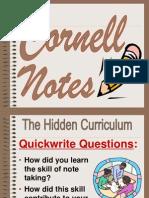 Cornell Note Presentation