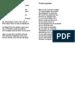 Poezie Populara