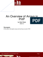 An Overview of Arrays in PHP