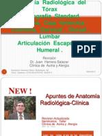 Apuntes  de  Anatomía   Radiológica  del  Tórax
