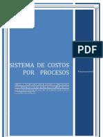 Sistema de Costos Por Procesos