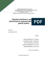 paquetes administrativos