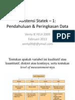 Latihan 1 Statistika Ekonomi Dan Bisnis - Ppt