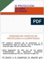 Regimen de Proteccion de La Libre Competencia 2012