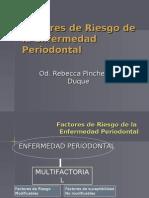 Factores de Riesgo de La Enfermedad Periodontal
