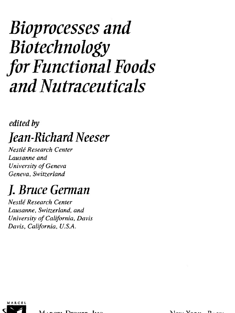 Bioprocess and Biotechnology for Functional Foods and Nutraceuticals |  Vitamin E | Nutrition