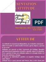 Attitude Ppt Final