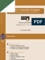 Prima Lezione SoftwareFisica Opensource