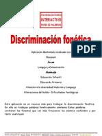 Guia Discriminacion Fonetica Multimedia
