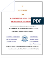 Marketing - Soap Industry Synop