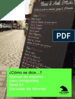 Español para Inmigrantes A1¿Còmo Se Dice?