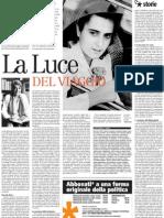 Luce d'Eramo, La Sua Singolare Vicenda Ed i Suoi Temi Scomodi - Il Manifesto 05.03.2013