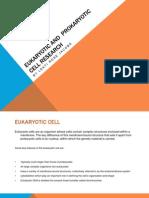 Eukaryotic and Prokaryotic Cell Research