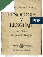Etnologia y Lenguaje