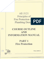 Fire Protection Notes