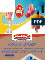 Mis Project = Vadilal Ice-cream