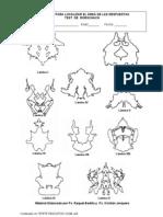 Protocolo de Localizacion Rorschach