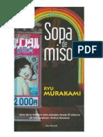 Ryu Murakami Sopa de Miso