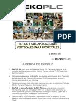 El Plc y Sus Aplicaciones Verticales Para Hospitales