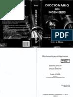 L161 - Diccionario Para Ingenieros - Luis a. Robb