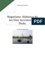 Nagarjuna en Alabanza de Las Diez Acciones Del Buda.