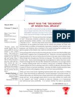 Confluence Newsletter - VCONFLUENCE NEWSLETTER - VOL. 7, NO 1ol. 7, No 1 (Web Form)
