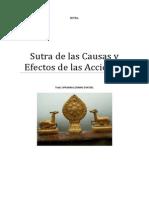 Sutra de Las Causas y Efectos de Las Acciones