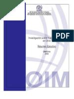 Investigación sobre trata de personas en Chile