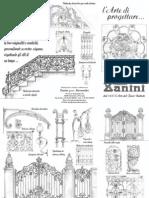 Alessandro Zanini Disegni Opere in Ferro Battuto