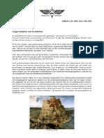 Kommunikation - Wing Tsun Universe, WTU Article I-2 Dt.