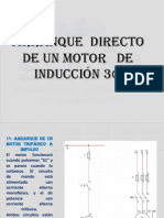 Arranque  directo de un motor   de  inducción 3