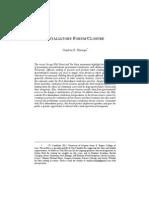 ELZINGA 2012 ARIZONA LAW REVIEW ARTICLE ON FORUM CLOSURE.pdf