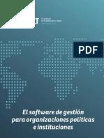 Quilt. El software de gestión para organizaciones políticas e instituciones