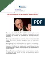 1209 Consejos de inversión de Buffett