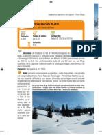 Scialpinismo sul Colbricon Piccolo dalla statale del Passo Rolle