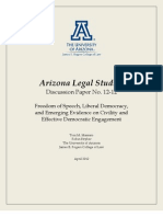 UNIVERSITY OF ARIZONA CONSTITUTIONAL LAW PROFESSOR TONI MASSARO ARTICLE ON CIVIL DISCOURSE.pdf