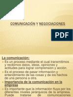 Comunicacion y Negociaciones