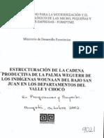 Artesanias Colombia Tejeduria Wounaan Valle Choco