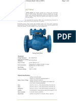 Types of Check Valve