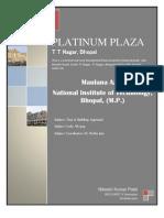 Building Appraisal Platinum Plaza Bhopal