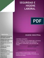 Seguridad e Higiene Laboral