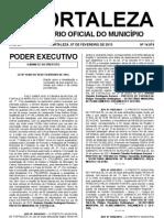 DOM de Fortaleza - 07MAR2013