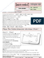 BAC 2013 4éme sc info devoir de controle n°2 Prof Daghsni Sahbi