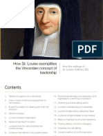 How St. Louise exemplifies the Vincentian concept of leadership
