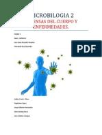 Microbilogia 2 Defensas Del Cuerpo y Enfermedades