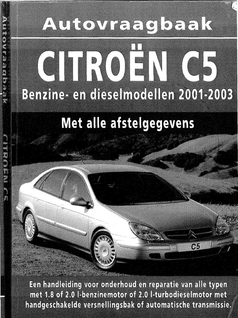 Workshop Manual Citro U00ebn C5phase1a